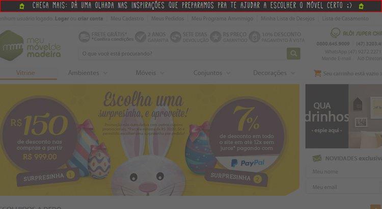 Exemplo de Inbound Marketing - Meu Móvel de Madeira
